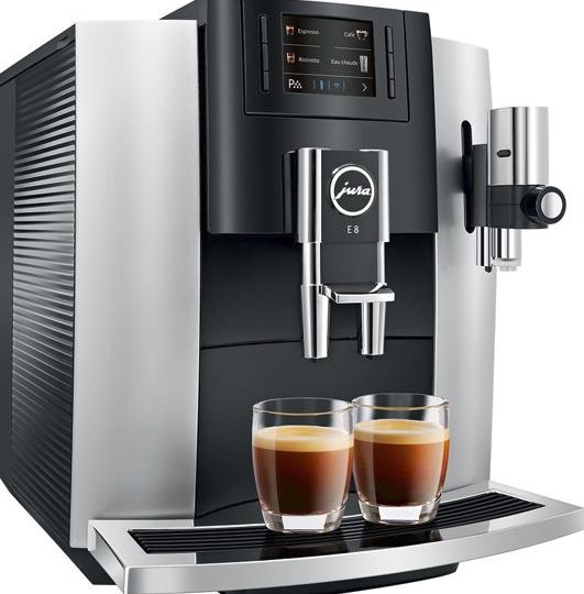 Jura E8 Platina Koffiemachine ( 2018 )