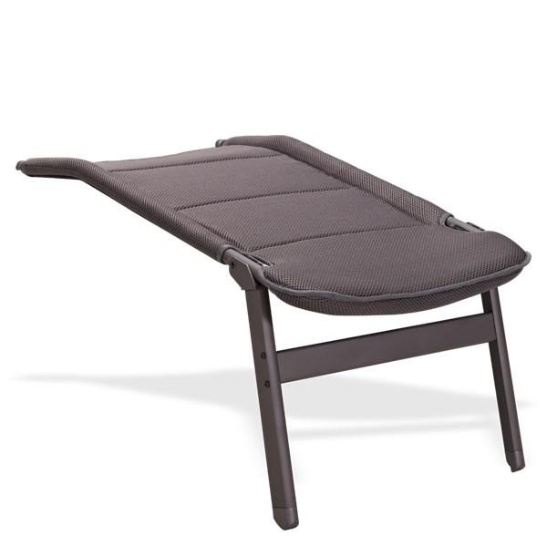 Westfield Avantgarde voetenbank Breeze Charcoal grey