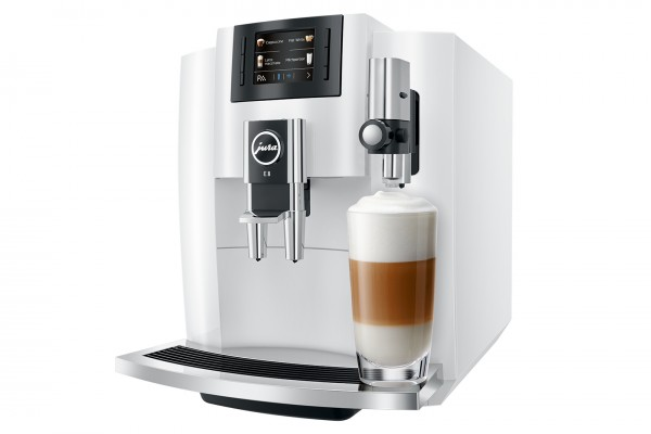 Jura E8 Piano White Koffiemachine